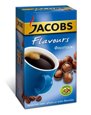 Jacobs Filter Coffee with Hazelnut Flavour 250g-0
