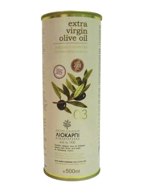 0.3 Cretan Extra Virgin Olive Oil 500ml Liokarpi-3499