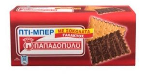 Petit-Beurre Biscuits with chocolate coating 225gr-0