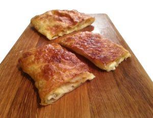 2 x 520gr Bougatsa Feta & Mizithra Cheeses Pie 1.04kg-0