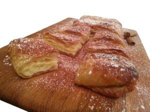 2 x 600gr Bougatsa Vanilla Custard Cream Pie 1.2kg-0
