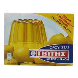 Fruit Zele Lemon 200gr Jotis -0
