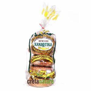 Barley Roll Rusk Bread - Ntakos 600gr Chaniotika-0