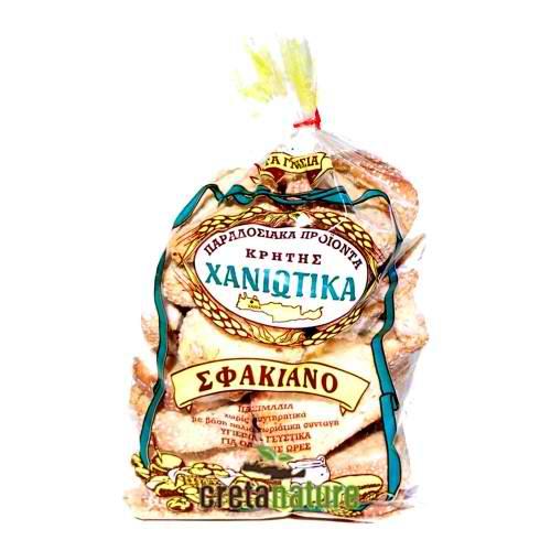 Wheat rusks 400gr - Paximadi Sfakiano - Chaniotika-0