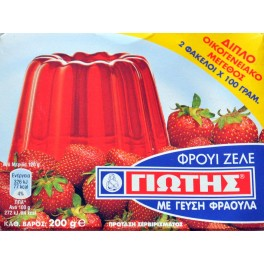 Fruit Zele Strawberry 200gr Jotis-0