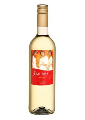 Muses Semi Sweet White Wine 750ml Tsantali-0