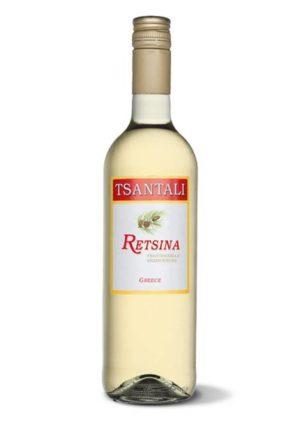 Retsina White Wine 750ml Tsantali-0