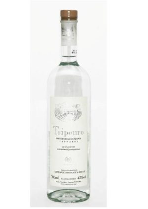 Tsipouro Tirnavos with anise 700ml -0