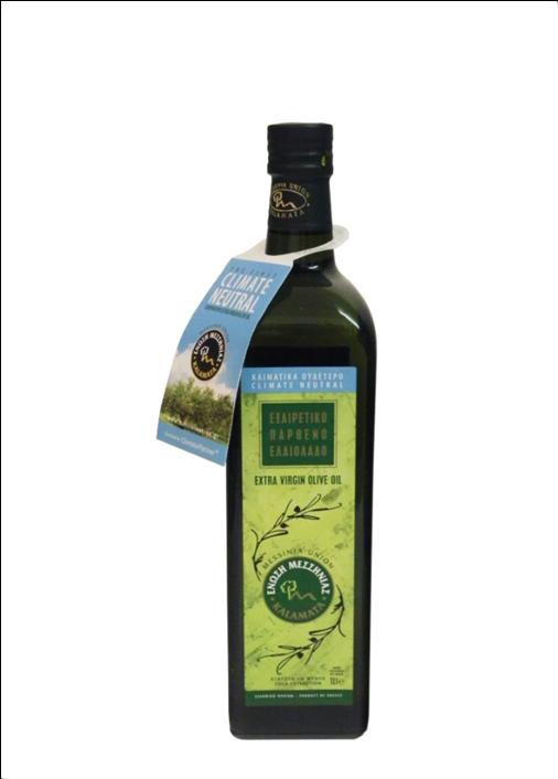 Messinia Extra Virgin Olive Oil 1ltr Glass bottle-3488