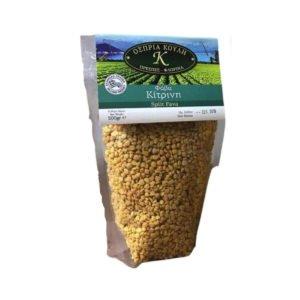 Yellow Split Peas raw 500gr - Fava-0