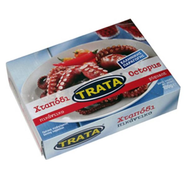 Spicy octopus in tomato sauce 100gr Trata-0