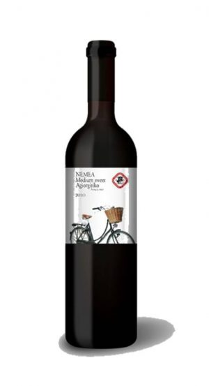 Nemea Agiorgitiko Semi-Sweet Red Wine 750ml Nemea Cooperative-0
