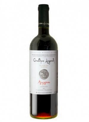 Golden Legend Red Agiorgitiko - Cabernet Sauvignon Wine 750ml Nemea Cooperative-0