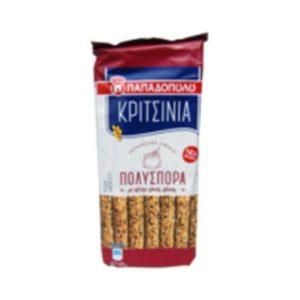 Breadsticks multiseed Papadopoulou - Kritsinia 185gr-0