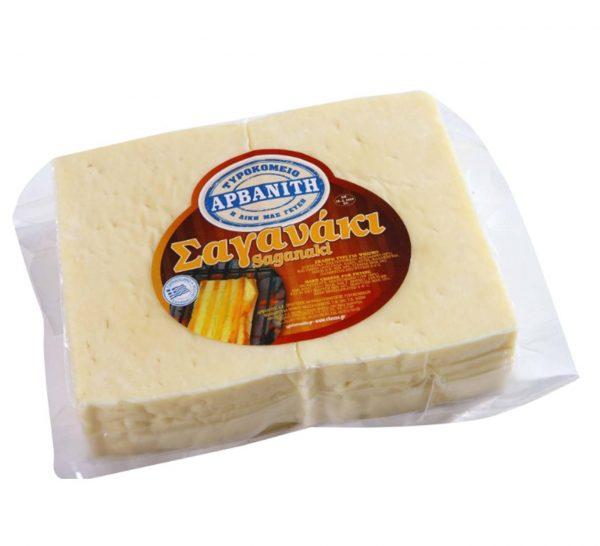 Saganaki Cheese for grilling 600gr Arvanitis-0