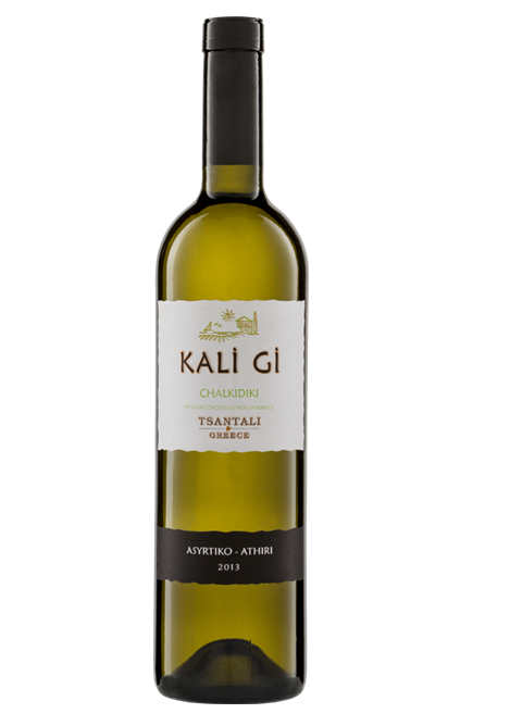 Kali Gi Organic Muscat & Sauvignon White Wine 750ml Tsantali-0
