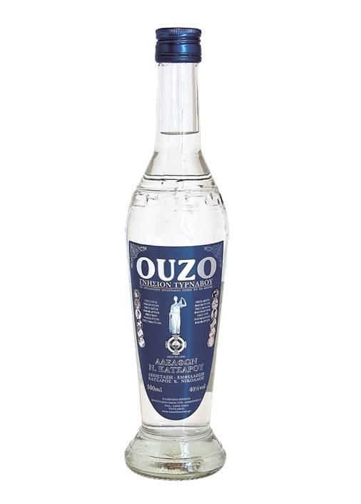 Ouzo Tirnavos Miniature 50ml -4033