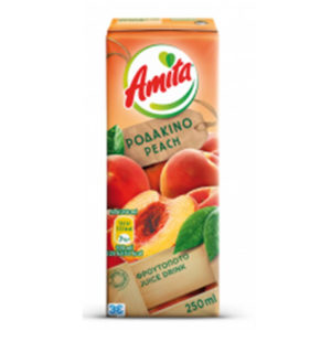Amita Peach Fruit Juice 250ml-0