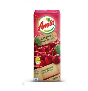 Amita Sour Cherry Fruit Juice 250ml-0