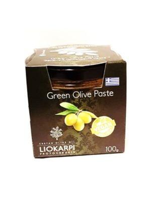 Green olives paste 100ml Liokarpi-0