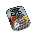 Wild anchovies with oregano in vegetable oil - Gavros 100gr Trata-0