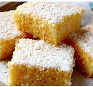 Ravani - Sweet Semolina Cake with coconut flakes 350gr-0