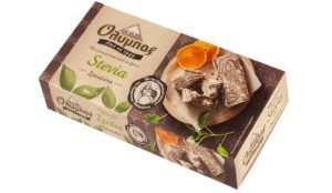Halva Chocolate with Stevia 250gr Olympos-0