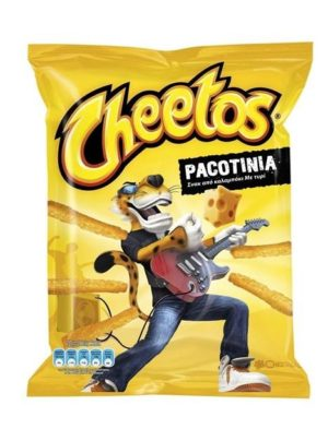 Cheetos Pacotinia cheese-flavoured snack 70gr -0