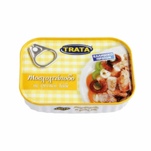 Musky Octopus in vegetable oil 100gr Trata-0
