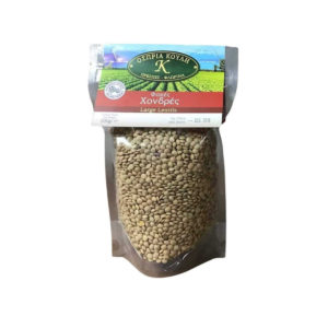 Lentils Fat Brown raw 500gr - Fakes-0