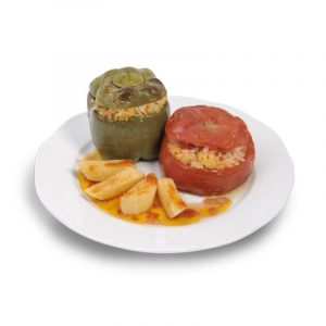 Gemista - Tomatoes and Peppers stuffed with rice 400gr Elfa-0
