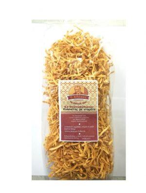 Hilopites with Tomato - Long Flat Style Pasta 500gr Vlachos-0