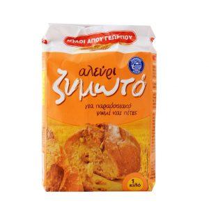 Zimoto Flour for bread 1kg Ag.Georgiou-0
