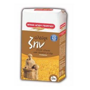 Zin Emmer Wholemeal Flour 1kg Ag.Georgiou-0