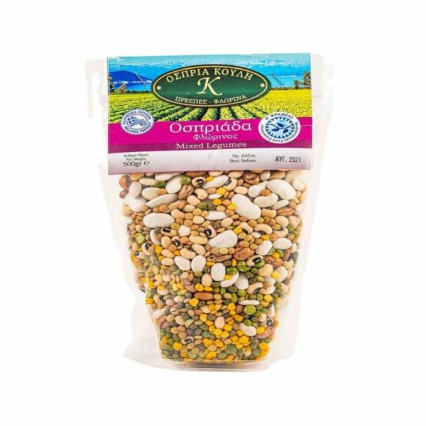 Mixed beans raw 500gr - Ospriada-0