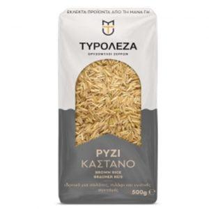 Brown Long Grain Rice 500gr Tiroleza-0