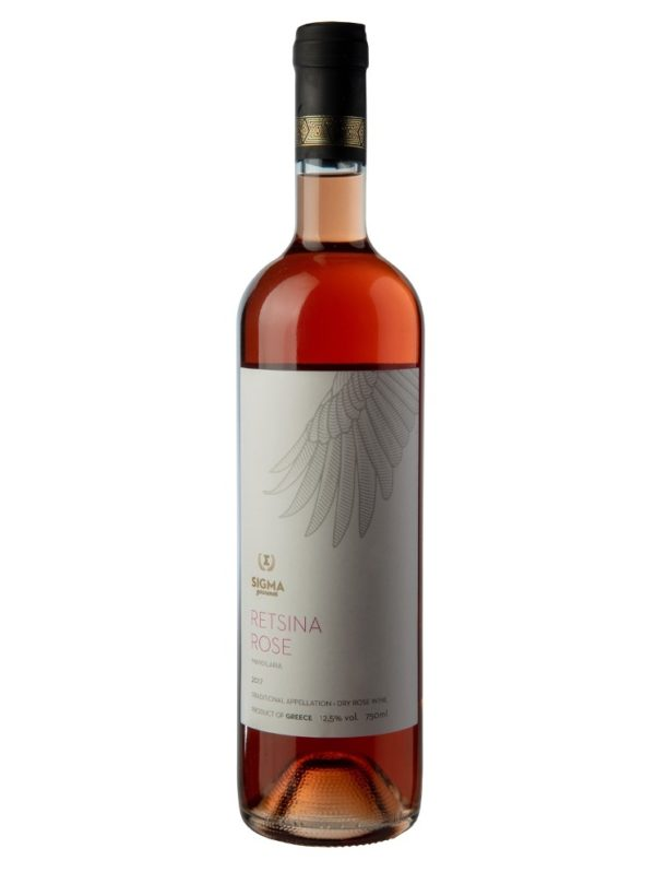 Retsina Rose Wine 750ml Sigma Gourmet-0