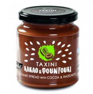 Tahini Cocoa and Hazelnuts 300gr Kandylas -0