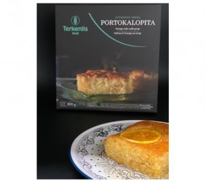 Terkenlis Orange Pastry Portokalopita 4pcs 800gr-0