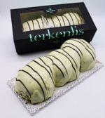 Terkenlis tsoureki - brioche with chestnut filling and white cream coating 700gr-0