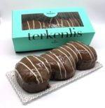 Terkenlis tsoureki - brioche with chocolate filling and coating 450gr-0
