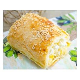 Koulourini Feta - Mini Feta Cheese Bites with Sesame 750gr Famiglia-0