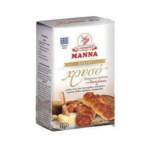 Flour for tsoureki-brioche 1kg Manna-0