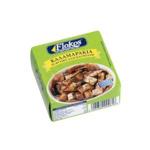 Squids-in-vegetable-oil-oregano-160g-flokos-agora-greek-delicacies