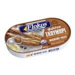 Smoked mackerel fillet skoumpri in vegetable oil 160g - Flokos-0