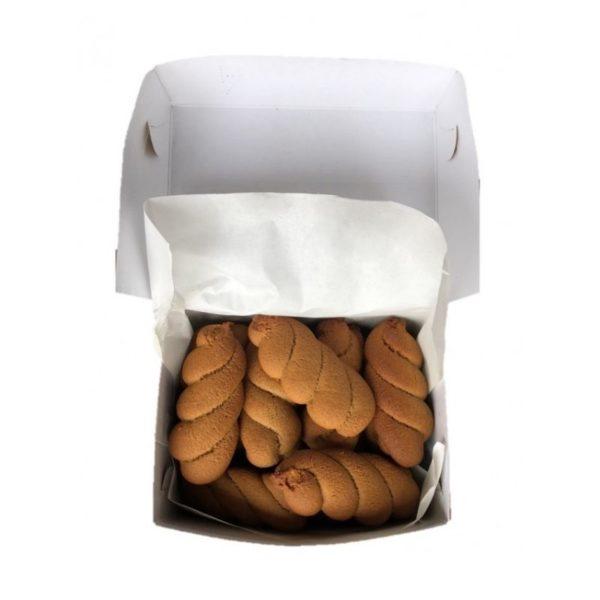 Koulourakia Kanelas - Cinammon Braided Biscuits 500gr Vlachos-0